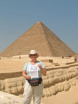 Hilde in Egypte