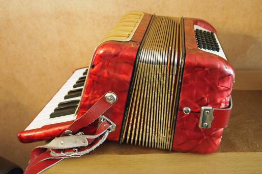 accordeon rood