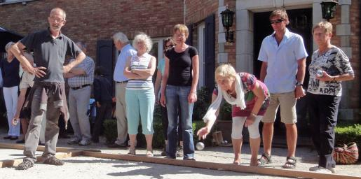 Petanque in aardenburgseweg