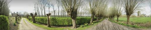 panorama in oostkerke lente 2017